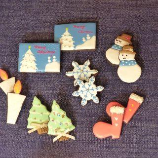 アイシングクッキーレッスン(クリスマス)