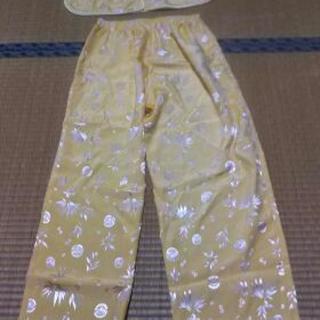 シルク100% silk  ベトナム製ルームウエア パジャマ
