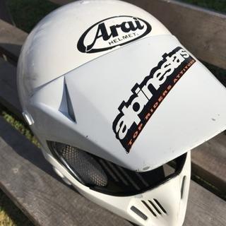 オフロードバイクヘルメット