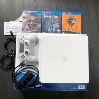 PS4 1TB 保証付き