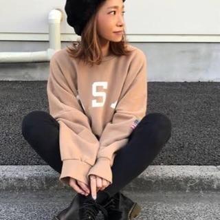 新品♡2018秋冬新作♪ 裏起毛USAロゴトレーナー(via j)♡