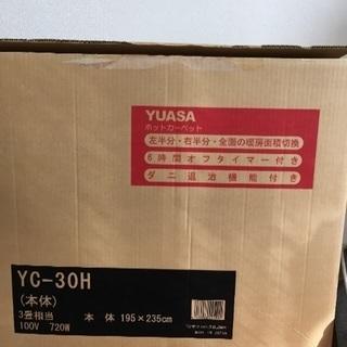YUASA ホットカーペット 3畳相当