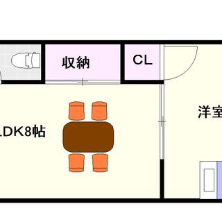 【石井ビル】1LDKタイプ!ええっ、家賃間違ってない?間違ってません!