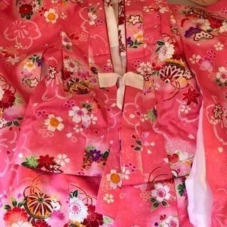 七五三 3歳女の子用 被布セット