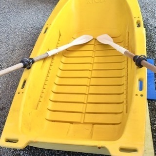 RYOBIボートエース(手漕ぎフィッシングボート) 香川県さぬき市引渡し