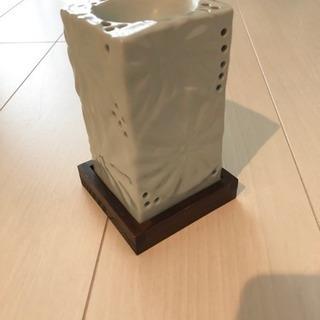 陶器製 キャンドルアロマポット
