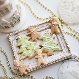 12月アイシングクッキー親子レッスンの画像