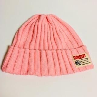 ピンク ビーニー