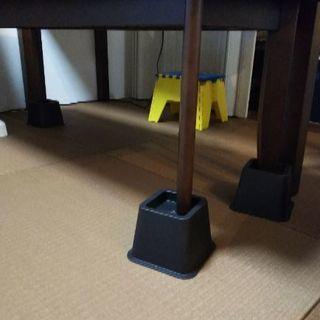 椅子、テーブル、ベッドのかさ上げ