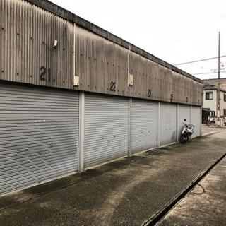 堺市西区 シャッター付ガレージ 1.6万円 草部付近