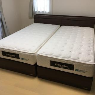 【郵送対応】シングルマットレスフランスベッド