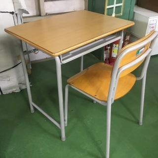 現状品!KOKUYO コクヨ 学校用 学習机 椅子 セット 165...