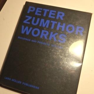 稀少 極美品 PETER ZUMTHOR WORKS: Bui...