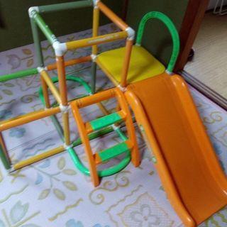 アンパンマンのジャングルジム&滑り台