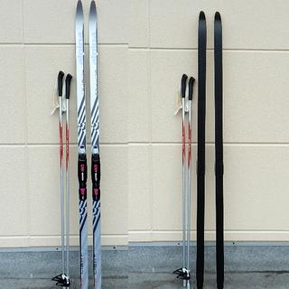 アルピナ クロスカントリー スキー板 ストック セット 178㎝ ...
