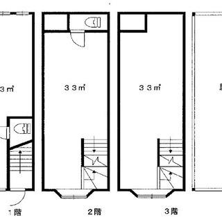 【杭瀬本町】事務所 3階建て2・3階部分(用途変更可能) オーナー...