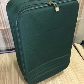 中古ソフトスーツケース鍵なし