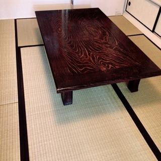 和室用のテーブル