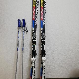 SALOMON 初心者用スキー板 170cm