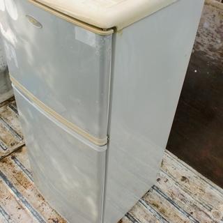 ハイアール2ドアー冷蔵庫(125L)05年製 本体無料です