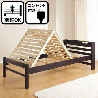 【ニトリ】棚付きすのこベッドフレーム