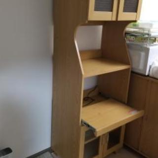 食器棚 1年使用
