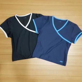 レディース トレーニングTシャツ 2枚