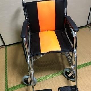 ☆お譲り先決定☆ブレーキ付き介助用車椅子、数回使用、美品