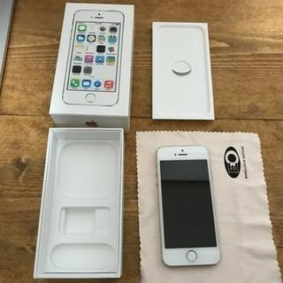取引中 docomo iPhone5s 16GB ゴールド