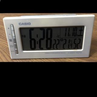 CASIOのめざまし時計