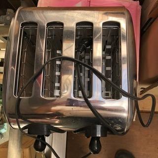 パン4枚用トースター値下げ