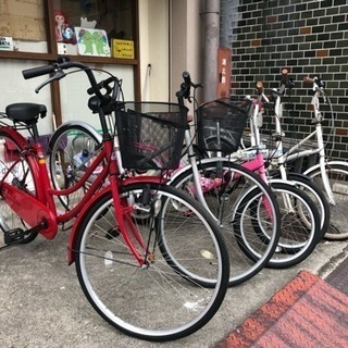 [当日限定!]整備済みリサイクル自転車