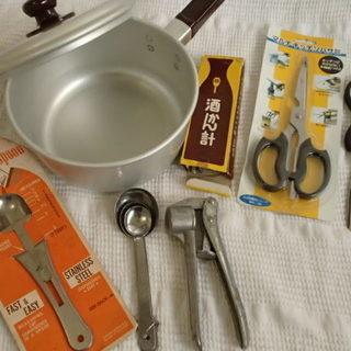 未使用・中古 鍋・調理道具7点