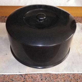 黒内朱 飯器 (本漆塗り木製漆器)