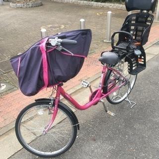 美品 3人乗り対応子ども乗せ自転車 ビルゴ  値下げ