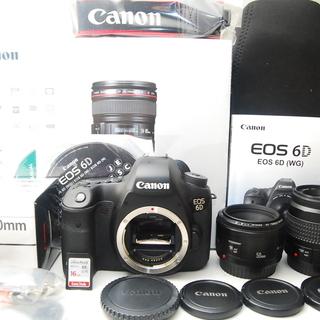 Canon Eos 6D トリプルレンズセット 2718