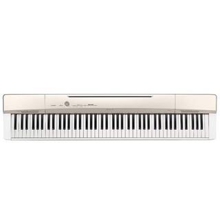 CASIO 電子ピアノPrivia PX-160GD シャンパン...