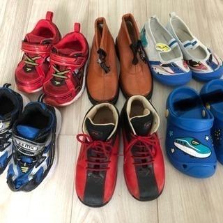 16センチ男の子靴まとめ売り