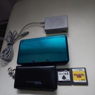 ◆ニンテンドー3DS +充電器+ ソフトのケース+ソフト(マリ...