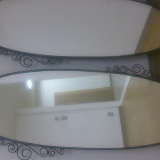 IKEA EKNE イケア エクーネミラ- 鏡 幅51cm 高さ...