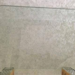 ガラス板(新聞紙片面より若干大きめ)