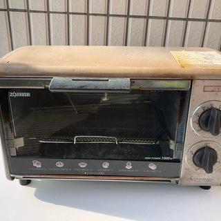 【ジャンク】象印オーブントースター温度調節付き