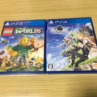 ps4 ソフト2つ