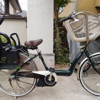 【取引中】ブリヂストン3人乗り電動自転車 アンジェリーノアシスタDX