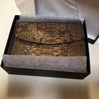 元値5万円【新品美品】ダイヤモンドパイソン財布
