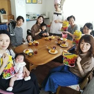 ナン作り&カレーランチ&寝相アート&ベビーマッサージ!堺市