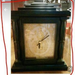 キーBox置時計