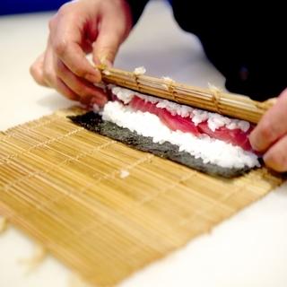 大分寿司にぎり体験&巻き寿司体験&お刺身お造り体験教室