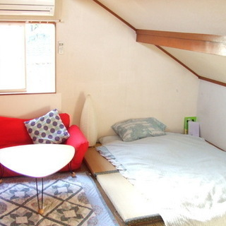 【個室】まるで秘密基地!ログハウス風一軒家シェアハウス【東武東上線成増】