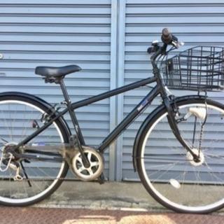 【整備済】自転車   オートライト  6段ギヤ  チェーン新品  ...